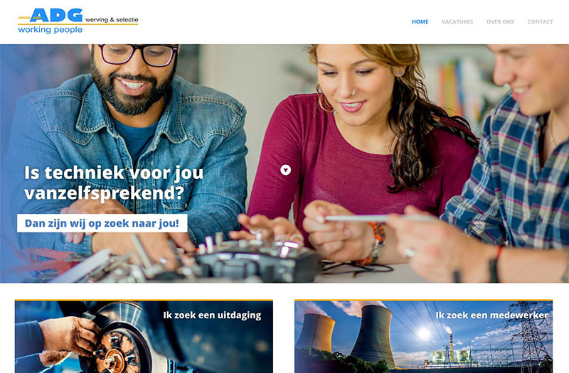 Q13 » Nieuwe website ADG Working People