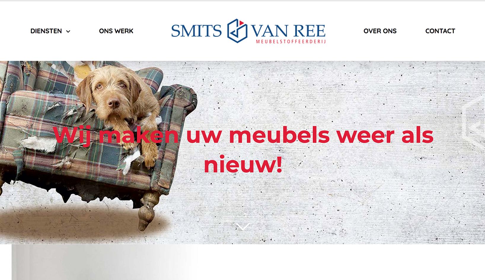Nieuwe Website Smits & van Ree Tilburg gemaakt door Q13 Webdesign